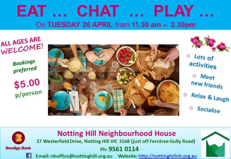 EAT_CHAT_PLAY - April 2016