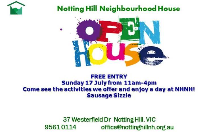 Notting Hill Neighbourhood House Open House 2016