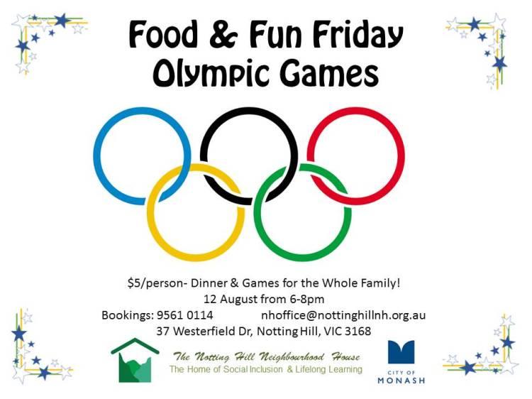 Food & Fun Friday Aug2016