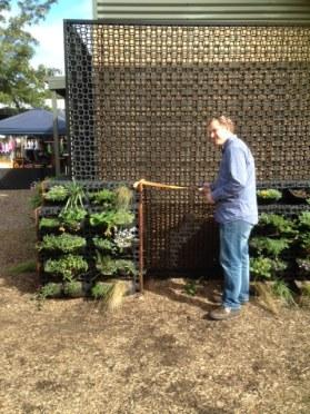 Dep. Mayor Stuart James officially opening our garden