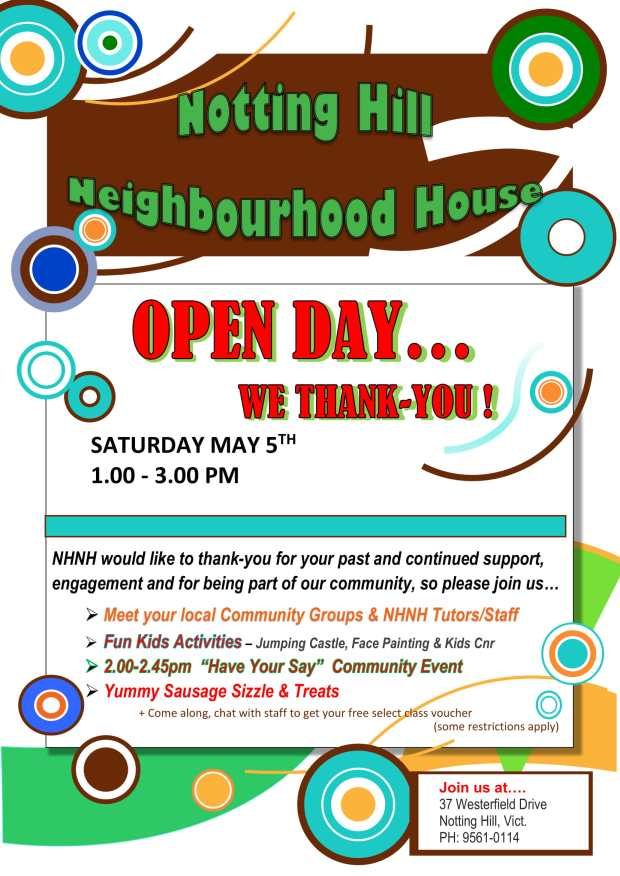Open Day Event Poster-1