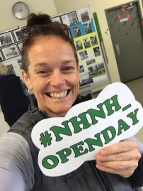 What a beautiful smile on our fitness instructor, Kylie! #nhnh